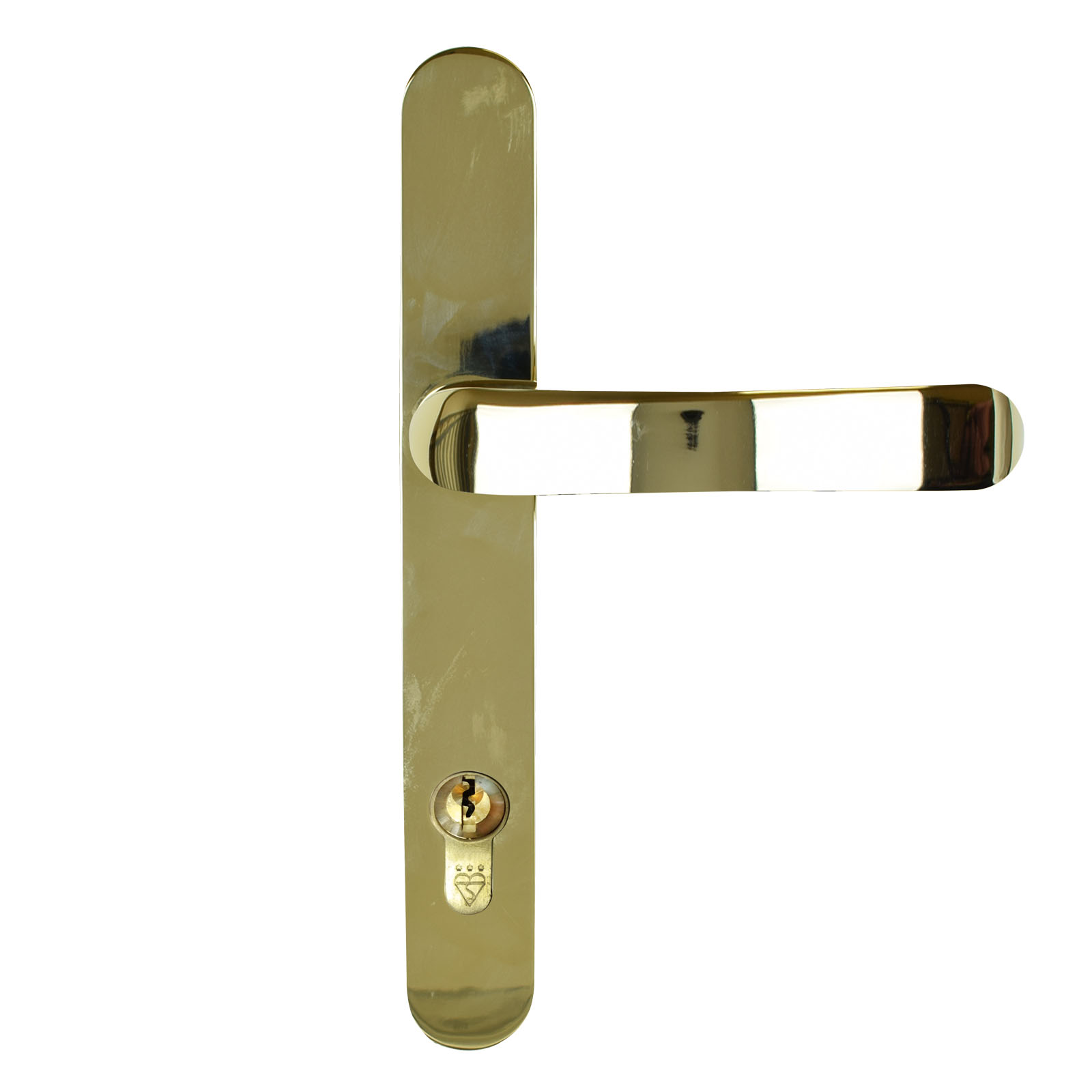 Gold Finish Stainless Steel Handle